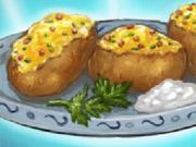 خبز البطاطاس المسلوقة