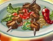 حفلة شواء اللحم