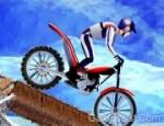 الدراجة النارية على الجليد