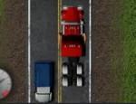 قائد الشاحنة الغاضب