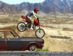 دراجة القفز فوق السيارات