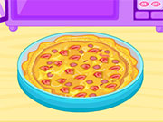 بيتزا دجاج ألفريدو