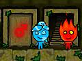 ولد النار وبنت الماء في معبد الغابة