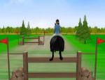 القفز بالحصان