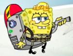 سبونج بوب ينظف المحيط