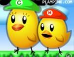 مغامرات الدجاجتين الخارقة